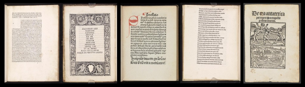 Images from the first volumes digitized by the McGregor project.