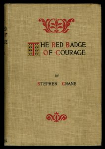 Red Badge of Courage, Cover of First Edition